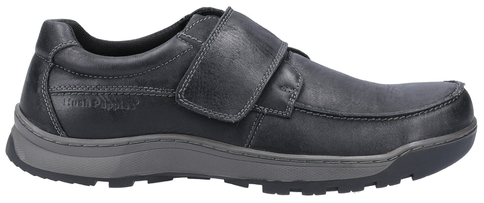 BLACK Casper Touch Fastening Shoes