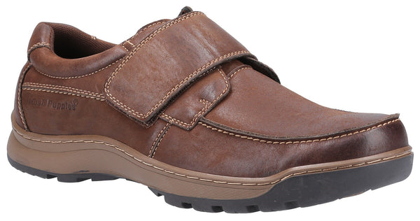 BROWN CASPER TOUCH FASTENING MENS SHOES