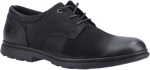 BLACK TREVOR MENS LACE SHOES