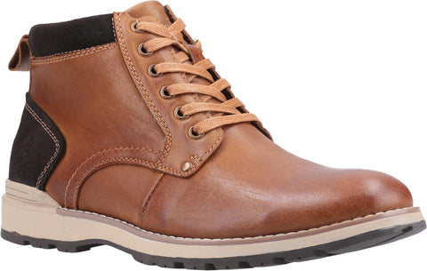 BROWN DEAN LACE UP BOOT