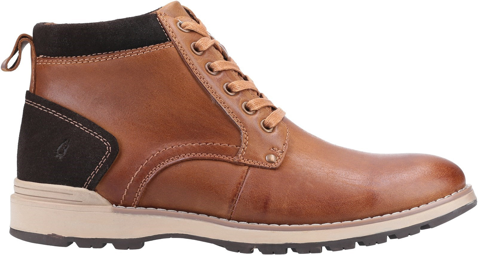 TAN Dean Lace Up Boot