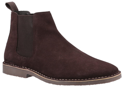 BROWN EDDIE CHELSEA BOOTS