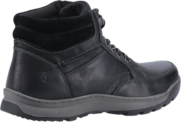 BLACK GROVER MENS LACE BOOTS