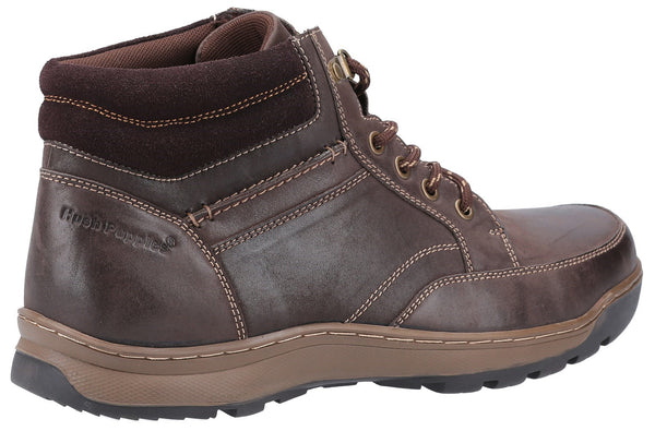 BROWN GROVER MENS LACE BOOTS