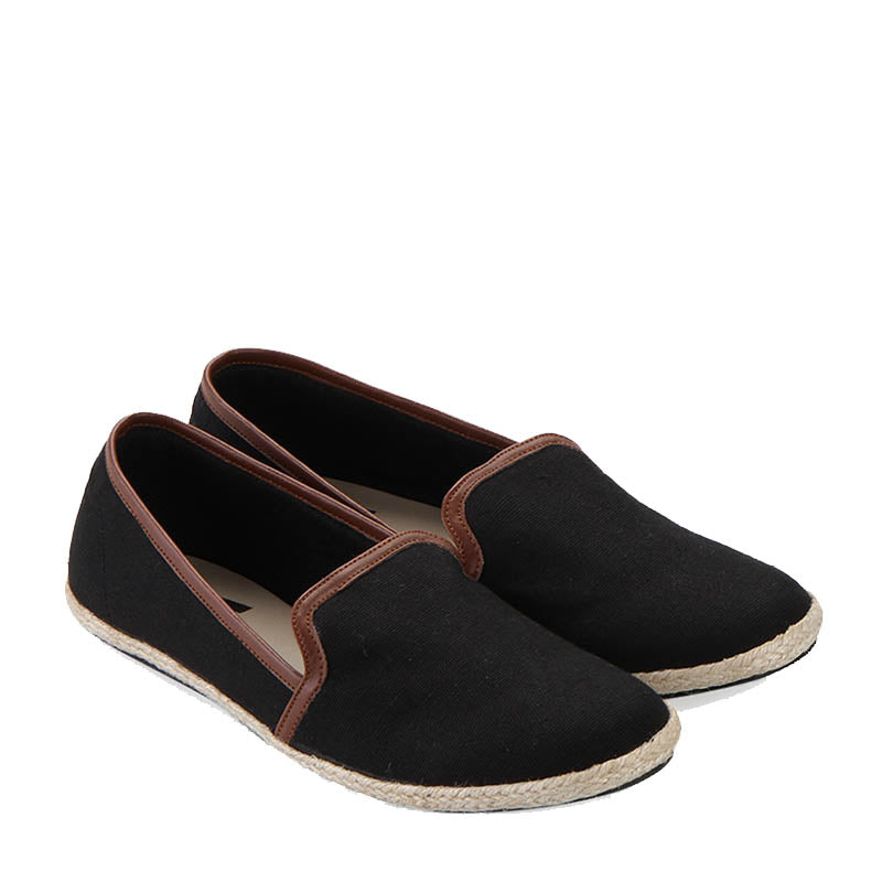 Woman Canvas Slip-On 001 - Black
