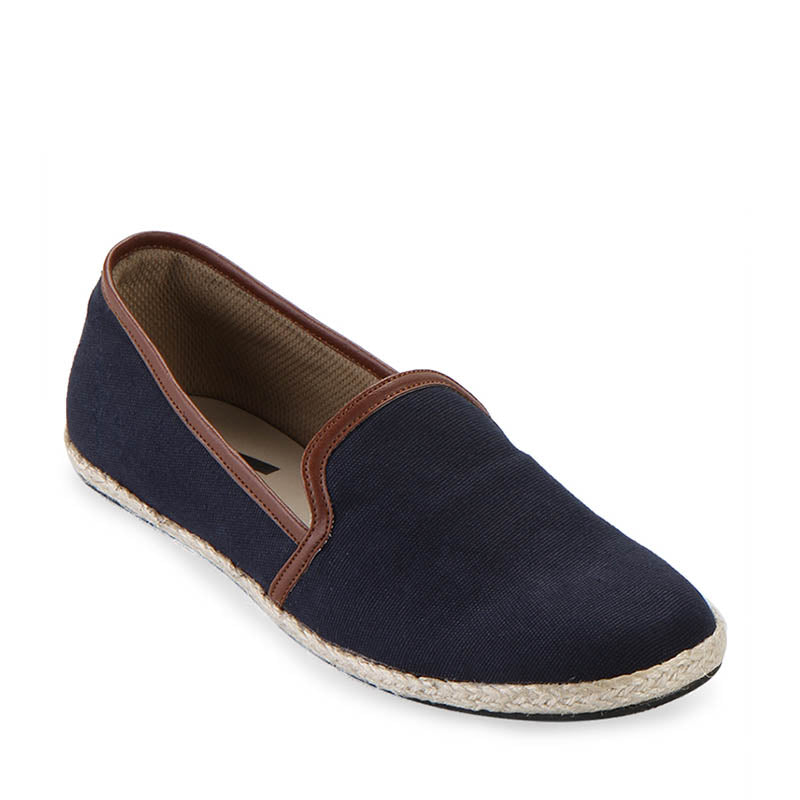 Woman Canvas Slip-On 001 - Blue