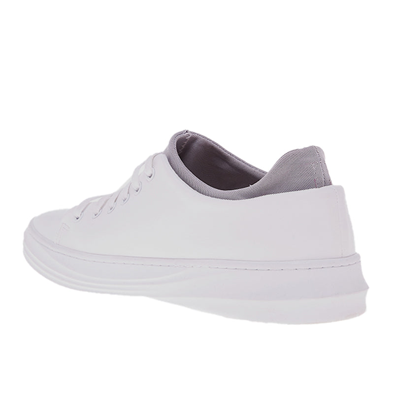 Accent Leather Sneakers 103 - White