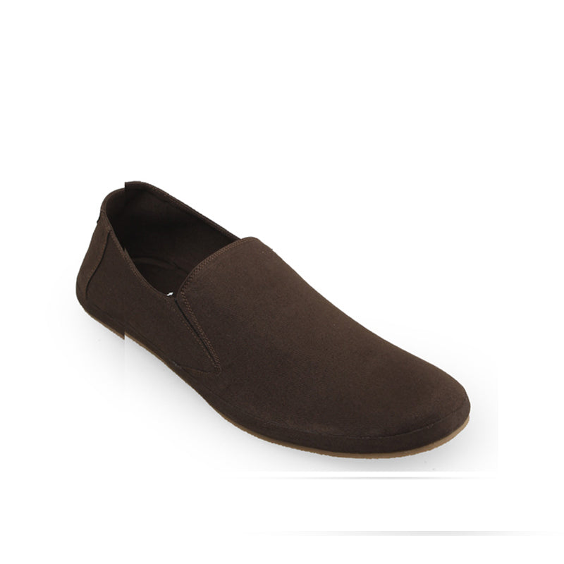 Canvas Slip-On ND08 - Brown