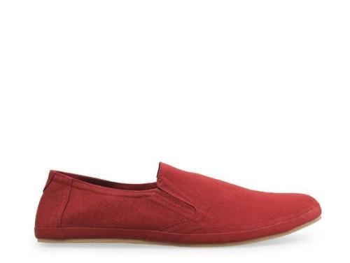 Canvas Slip-On ND08 - Maroon