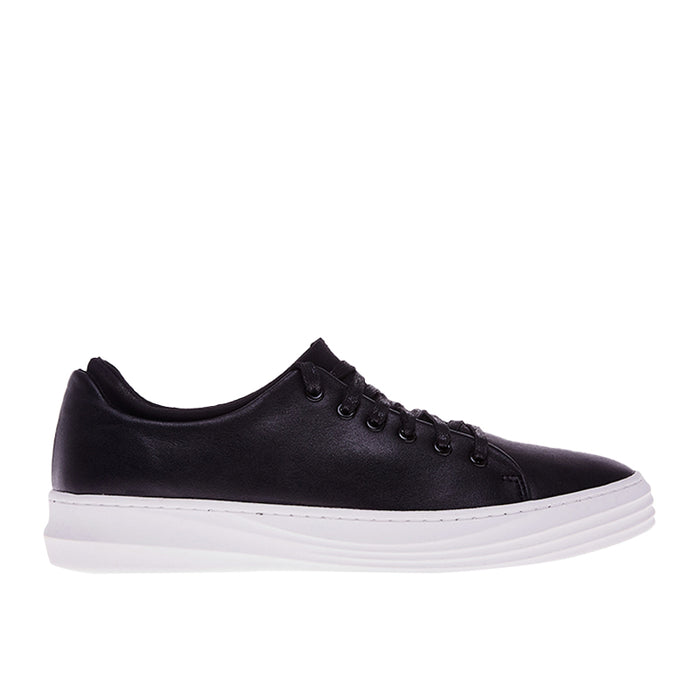Accent Leather Sneakers 103 - Black