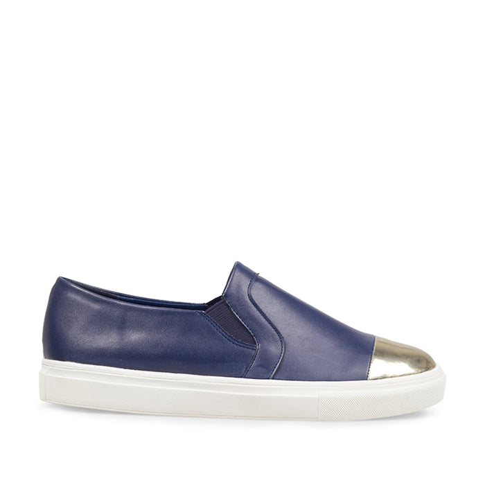Woman Gold-Tip Slip-On LS 8166 - Navy