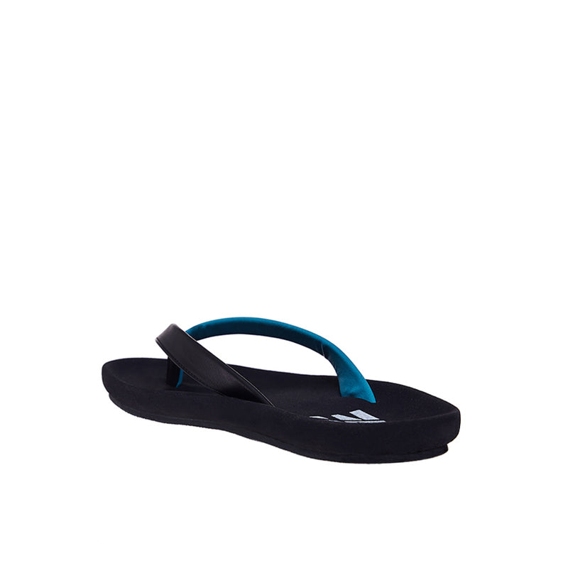 Dual Colour Sandals - Black