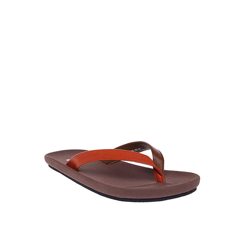 Dual Colour Sandals - Brown
