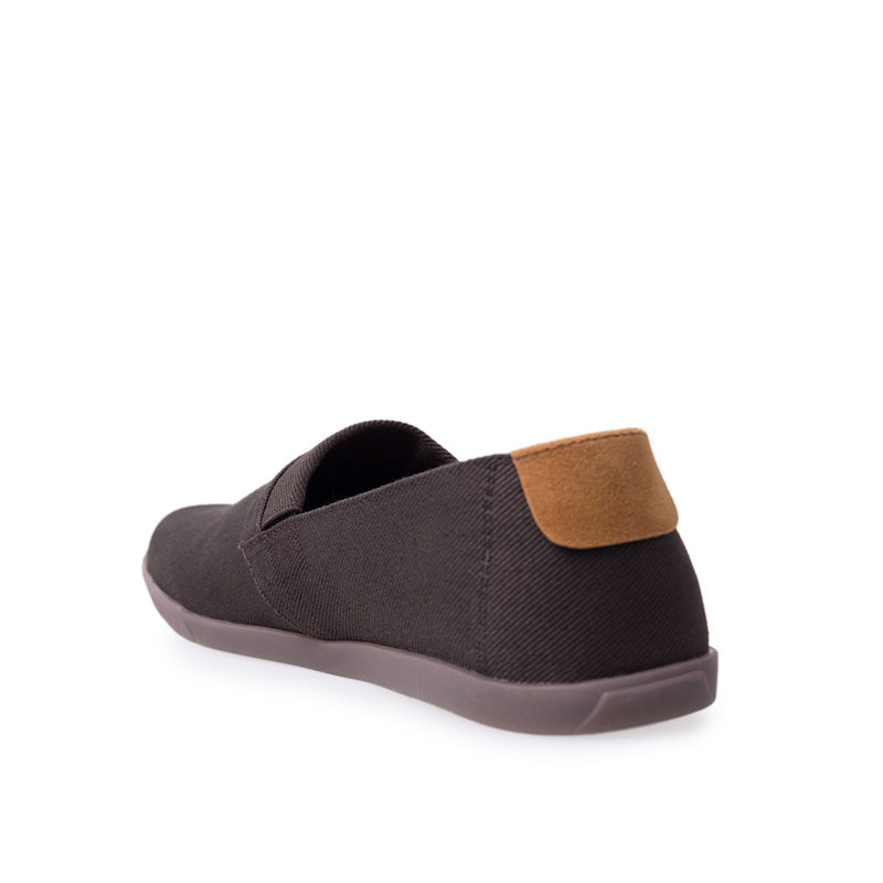 Canvas Slip-On NB013 - Brown