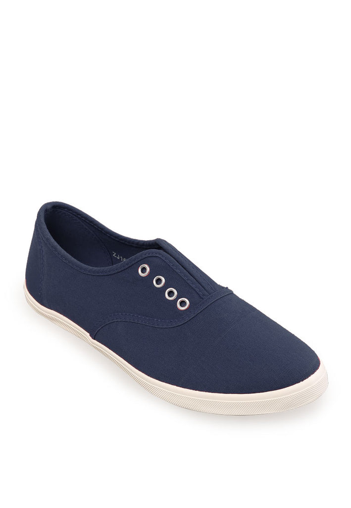 Woman Laceless Sneakers - Blue