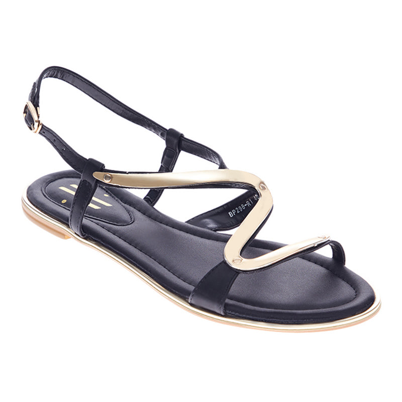 Woman Cindy Strap Sandals - Black