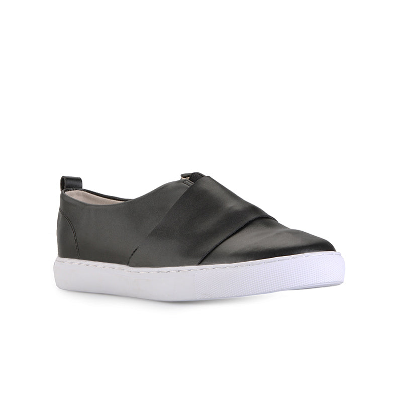 Woman Double Stack Sneakers - Black