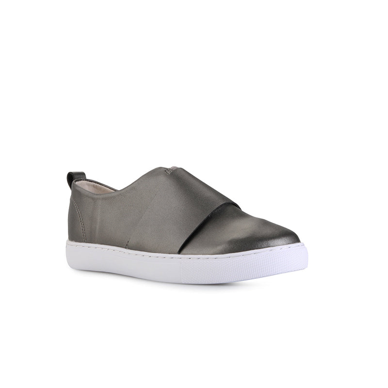 Woman Double Stack Sneakers - Dark Grey