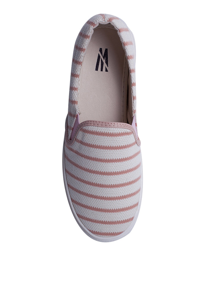 Woman Fabric Slip-On - Pink