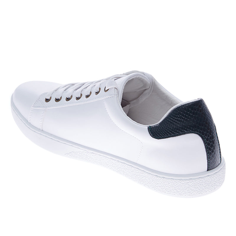 Emerson Leather Sneakers - White Green