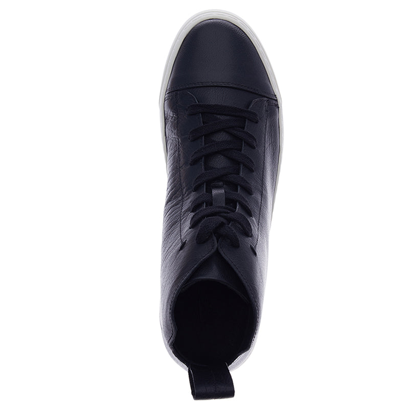 Justin Leather Sneakers - Black
