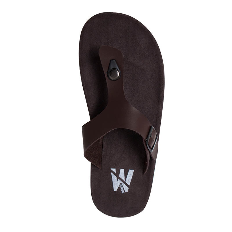 Kai Strap Sandals - Brown