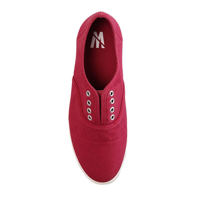 Woman Laceless Sneakers - Red