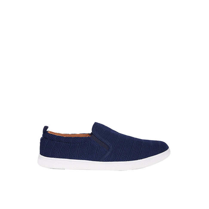 Fabric Slip-On ZZ - Blue