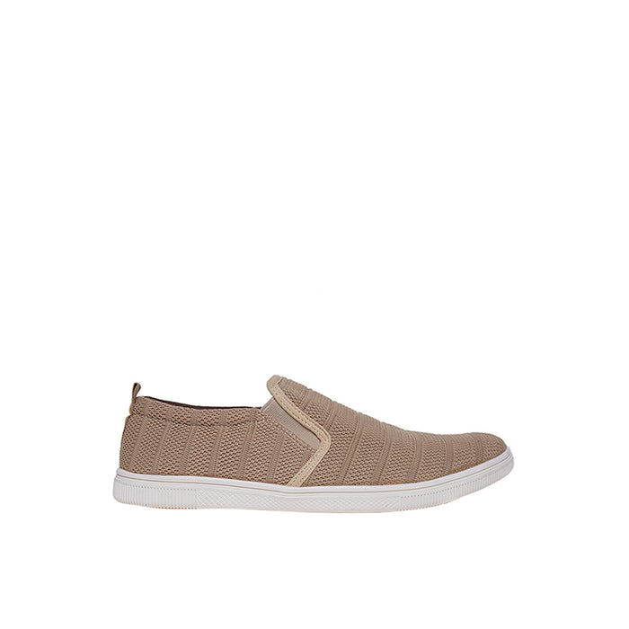 Fabric Slip-On ZZ - Khaki