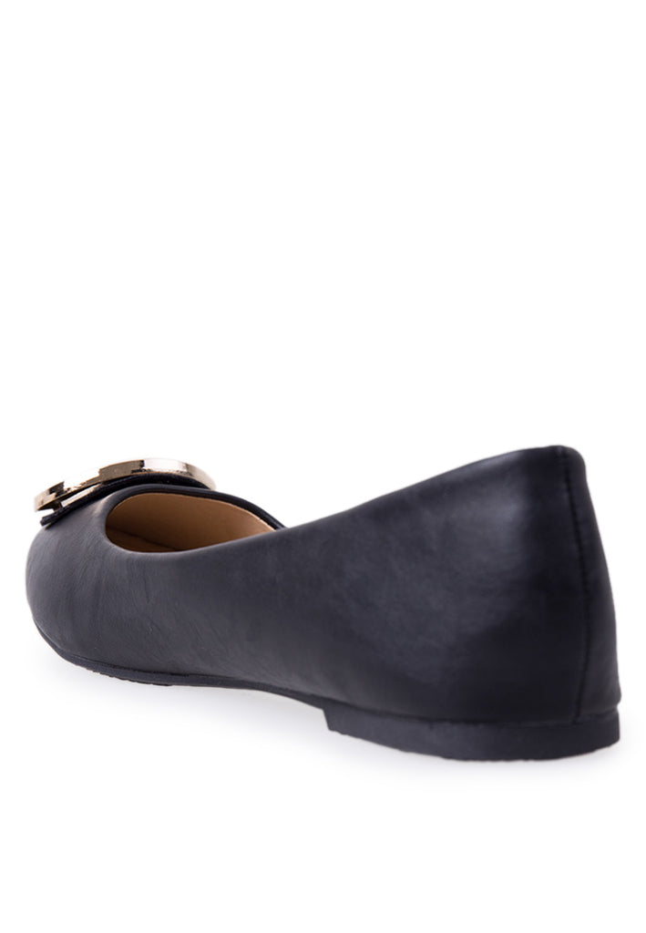 Woman Daisy Flats Ls 8148-21 - Black
