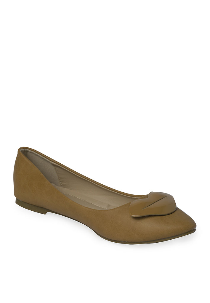 Woman Heidi FlatsLs 8151-5 - Brown