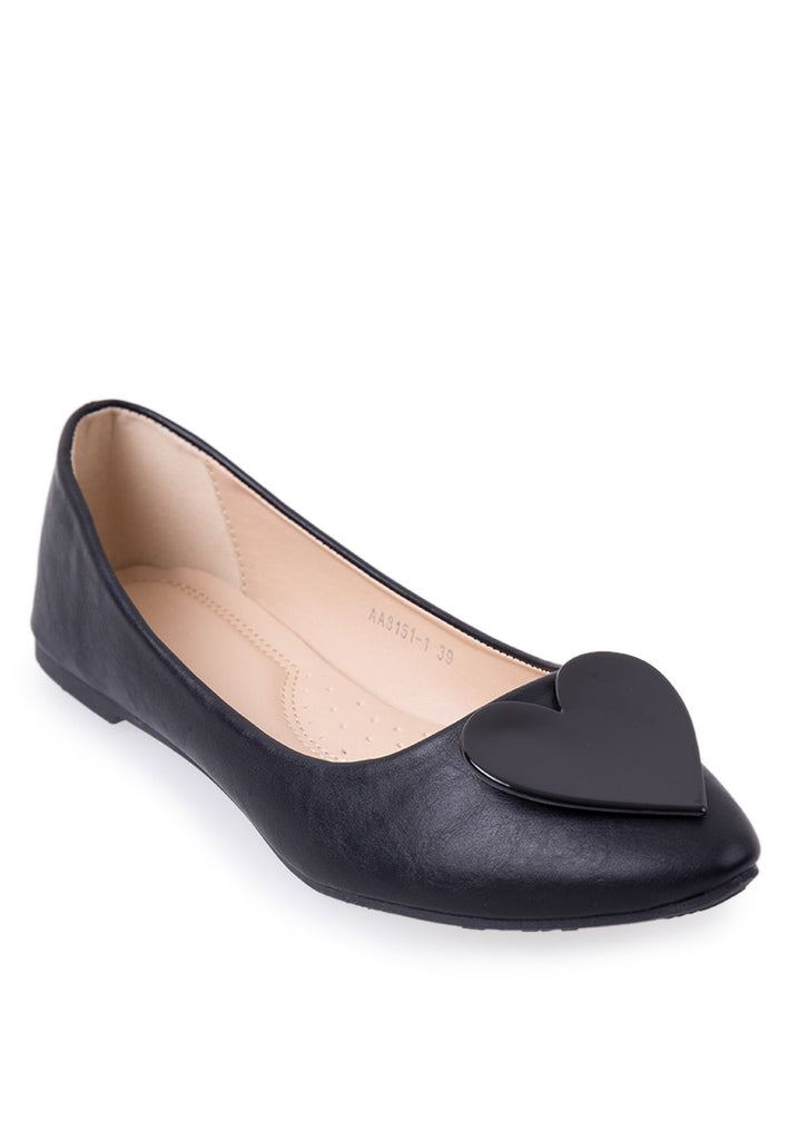 Woman Jasmine Flats Ls 8151-1 - Black