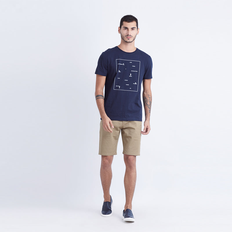 Everybody S/S Tee - Navy