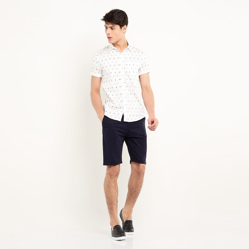 Anchor Boat S/S Shirt - White