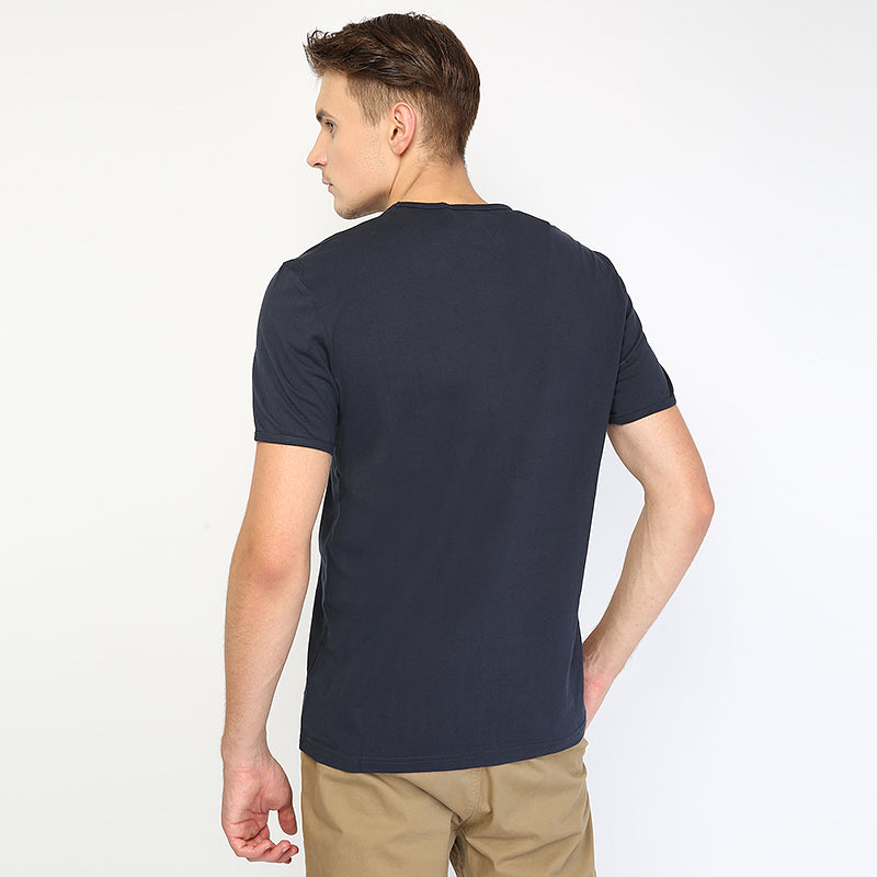 Shape Spot Pocket S/S Tee - Navy
