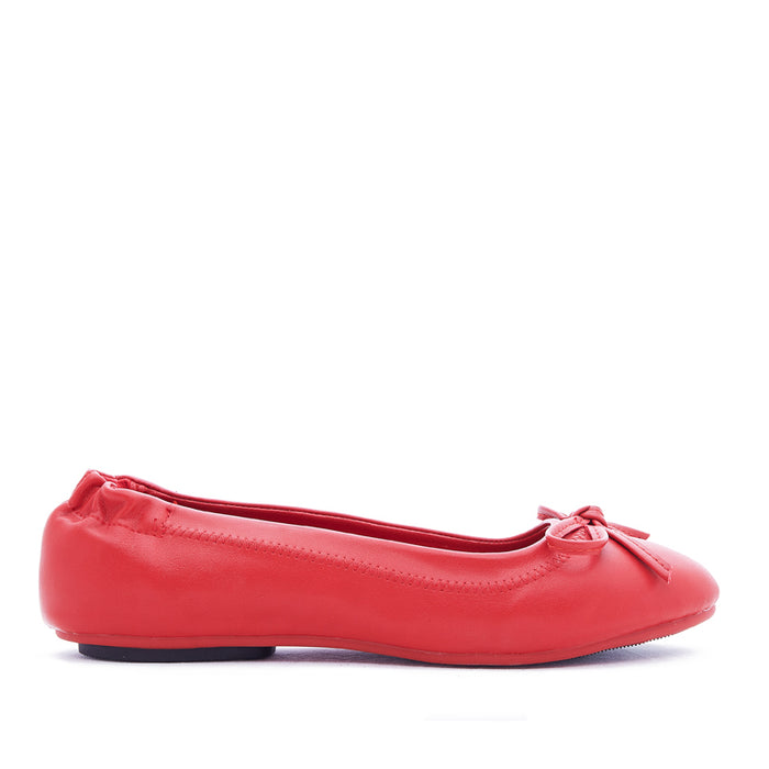 Woman Viviana Flats - Red