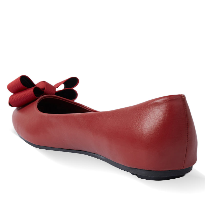Woman Thalia Flats - Red