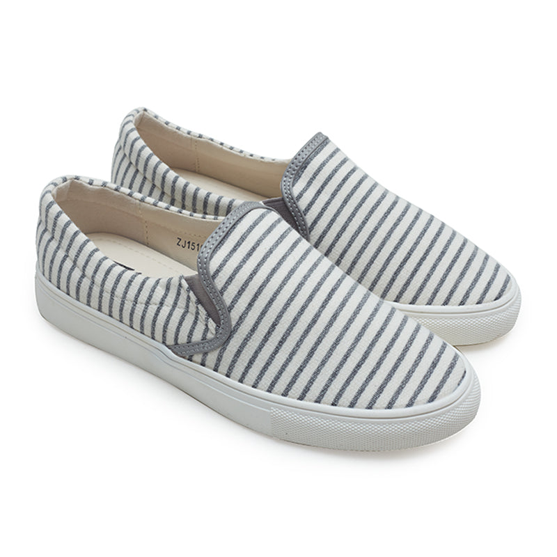 Fabric Slip-On 1510 - Gray