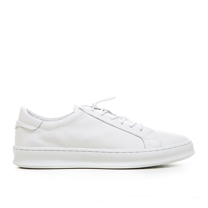 Basic Leather Sneakers 126-65 - White