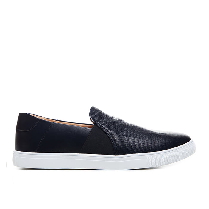 Leather Slip-On 262 - Black
