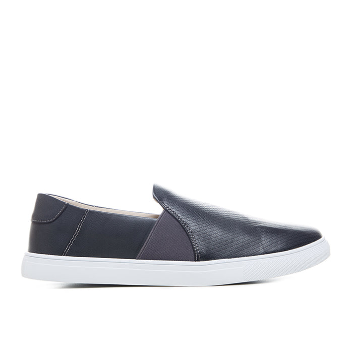 Leather Slip-On 262 - Grey