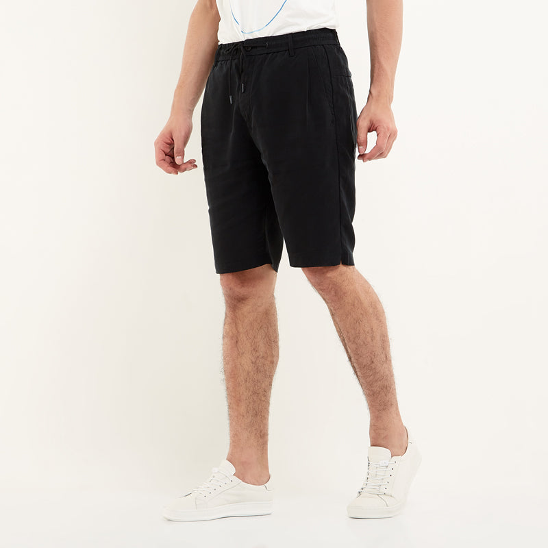 Tencel Shorts - Black