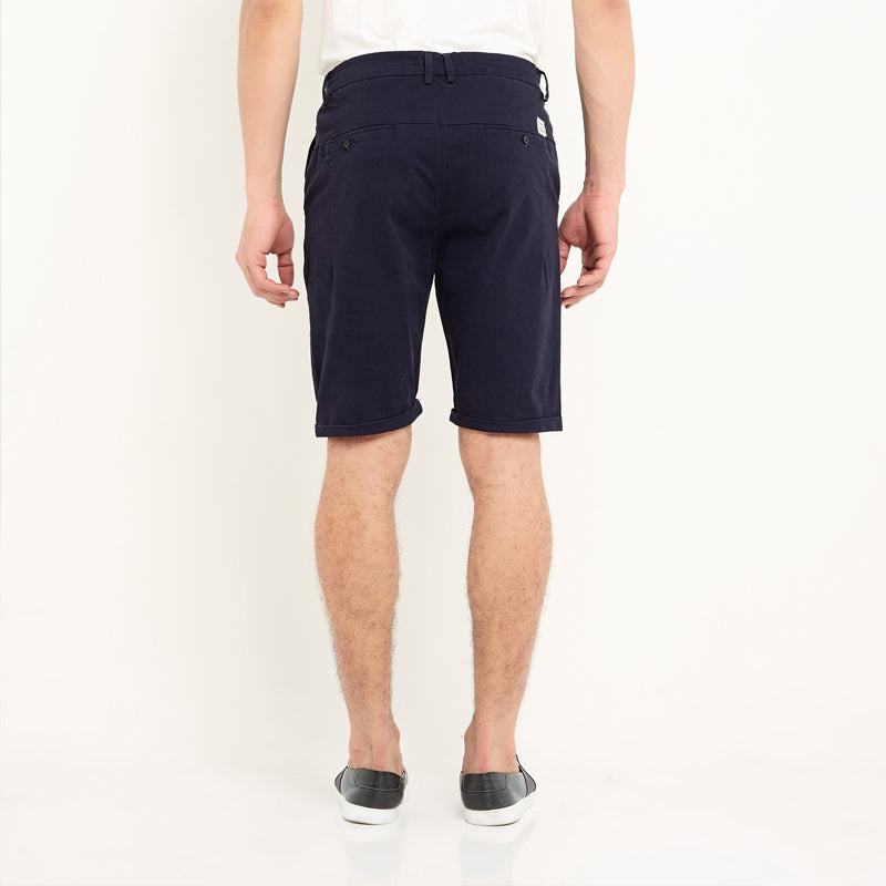 Regular Chino Shorts - Navy