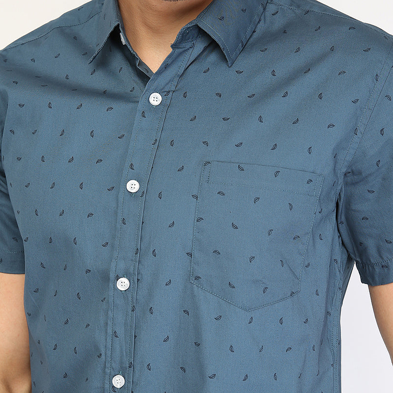 Leaf 004 S/S Shirt - Green
