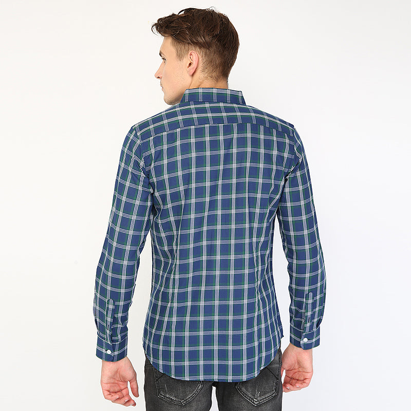 Plaid 02 L/S Shirt - Green