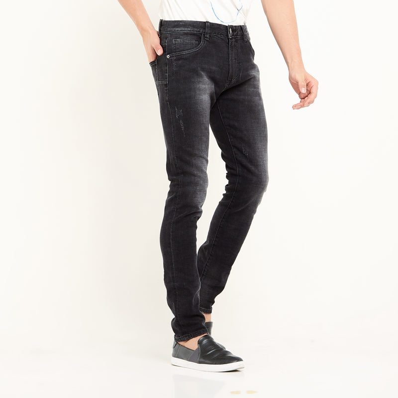Abram Denim Pants - Black