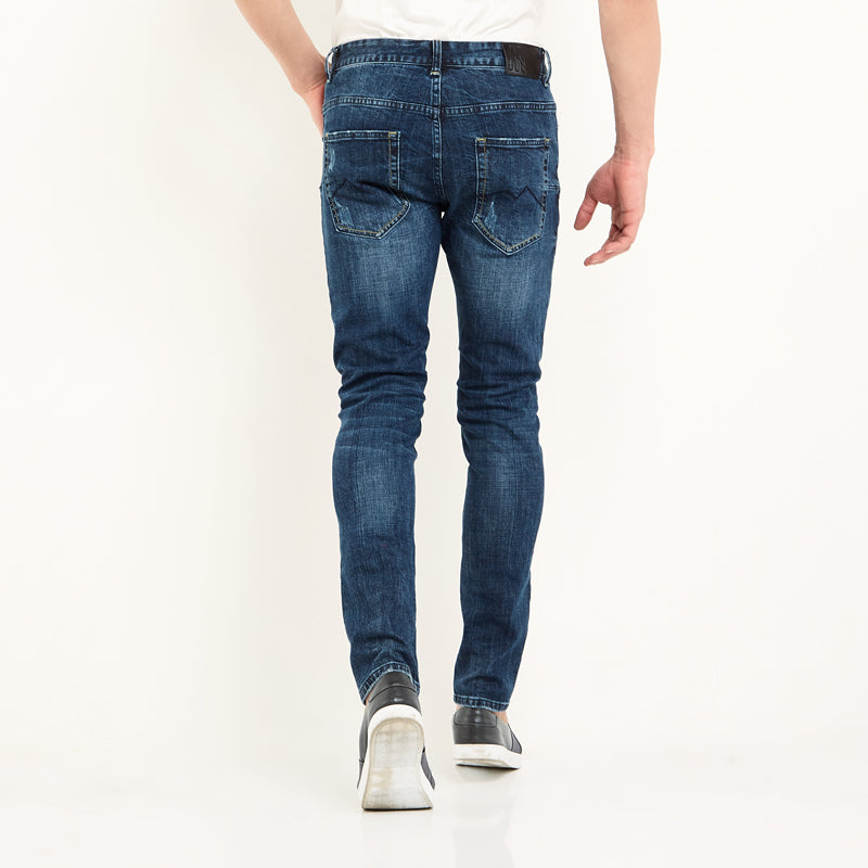 Abram Denim Pants - Medium Blue