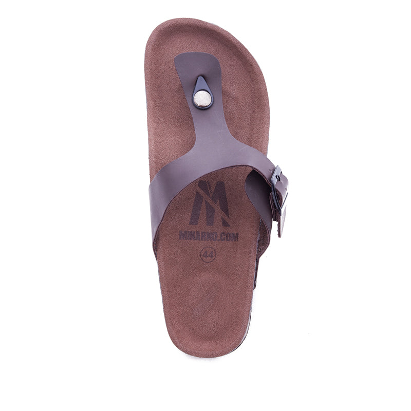 Hubert Strap Sandals - Brown