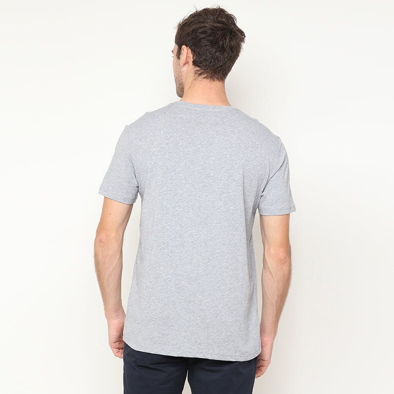 Baseball Pocket S/S Tee - Grey