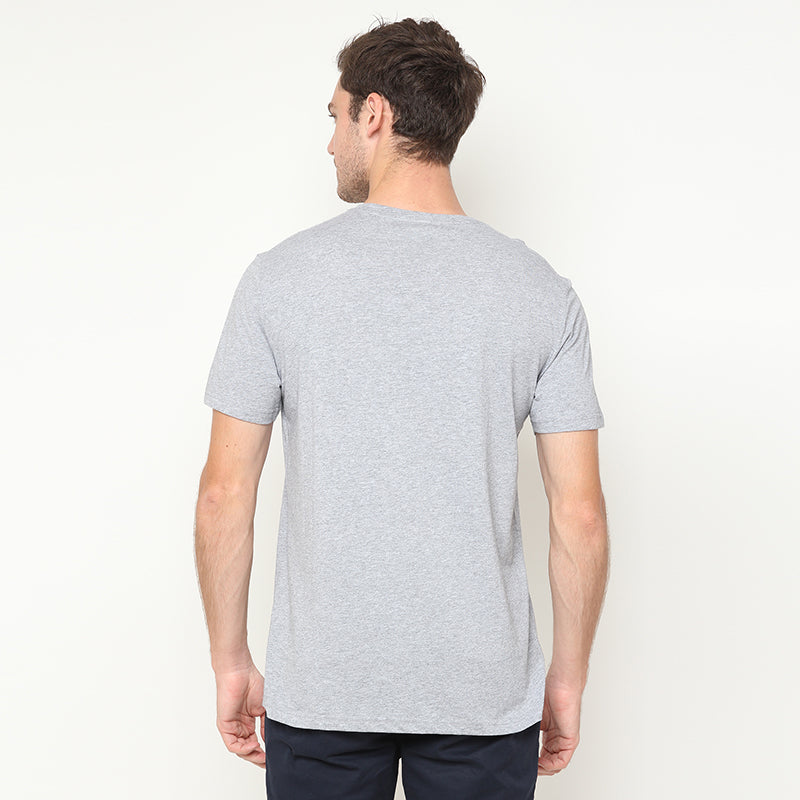 Never Give Up S/S Tee - Grey